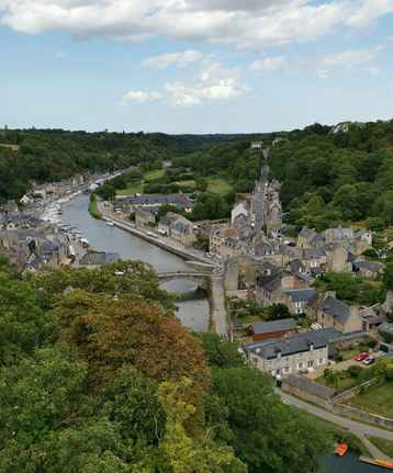 photo of Dinan town in Brittany